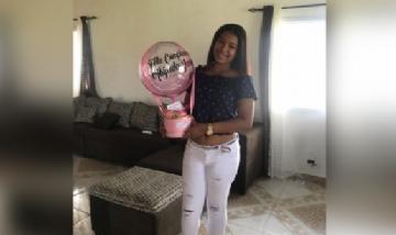 Jassy festejando sus 20 años en Panamá.