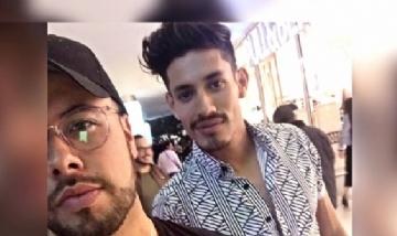 Freddie con su amigo en Guadalajara Jalisco México