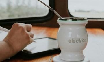 El mate eléctrico: Mantiene caliente la yerba por USB