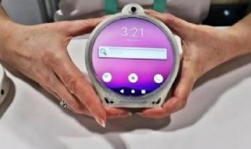 Presentaron un smartphone circular