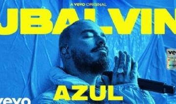"""J Balvin presentó """"Azul"""" su nueva canción"""