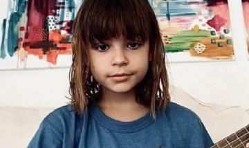 Muna, la hija de Agustina Cherri, deslumbró a Wos con la interpretación de un tema suyo