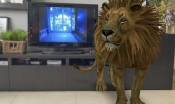 """Animales en 3D """"escondidos"""" en el buscador de Google"""