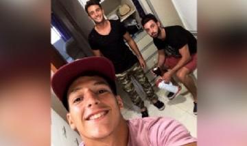 Emi, Andy y Juan, Rosario.