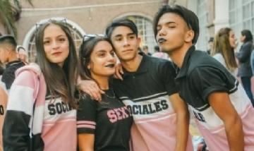 Alumnos de la modalidad Cs.Sociales, Promo 2019. CABA.