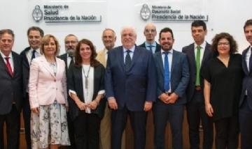 Lisandro Bonelli asumió su cargo dentro del gabinete de Salud de la Nación