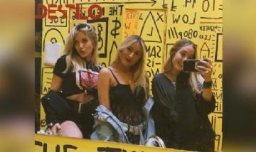 Loli y sus amigas juntas en Rosario, Santa Fe.