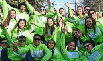Chicos de la promo 19, escuela 10.Entre Ríos.