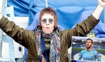 Liam Gallagher prometió venir a Argentina si Messi juega en el Manchester City