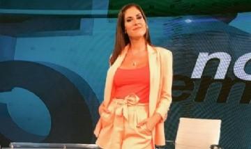 ¡Gran susto! la periodista de C5N, Daniela Ballester, se desmayó en pleno programa