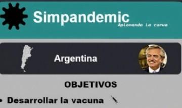 Simpandemic: Alberto Fernández vs. la pandemia