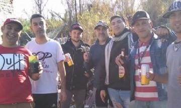 Alejandro More y los amigos de Junin