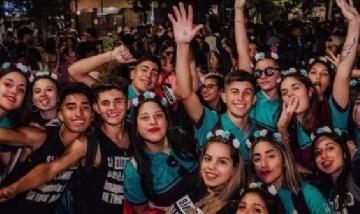 La promo 20 del colegio Dichiara de Río Cuarto, Córdoba.