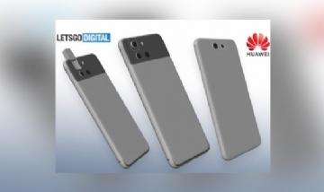 Retráctil y giratoria, la nueva cámara de Huawei