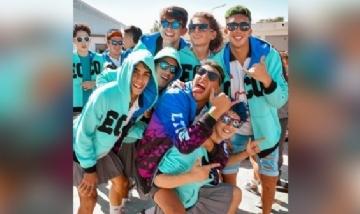 Los chicos de 6to del Luján desde Mendoza