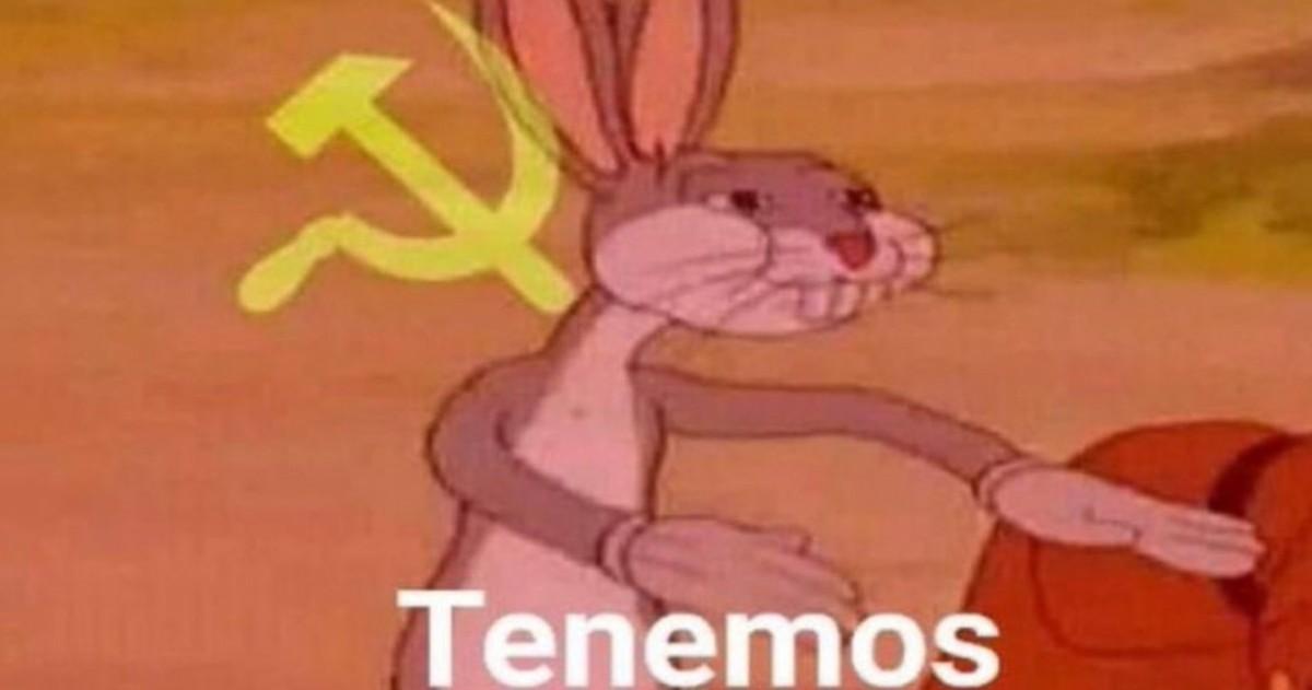 """""""Bugs Bunny comunista"""" El meme del momento que es furor en ..."""